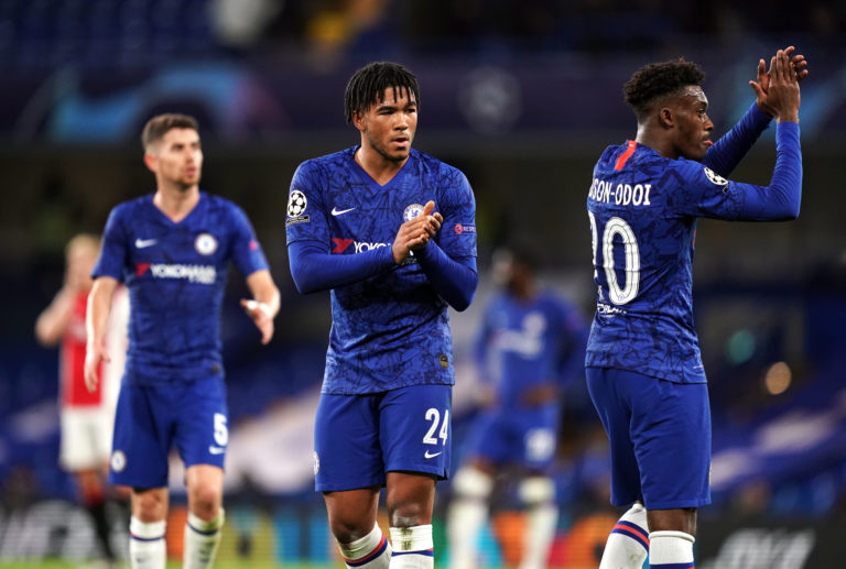 Chelsea's team has had a youthful look at times this season