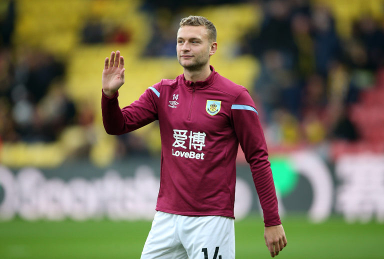 Ben Gibson's situation at Burnley has not changed, according to manager Sean Dyche (Nigel French/PA)