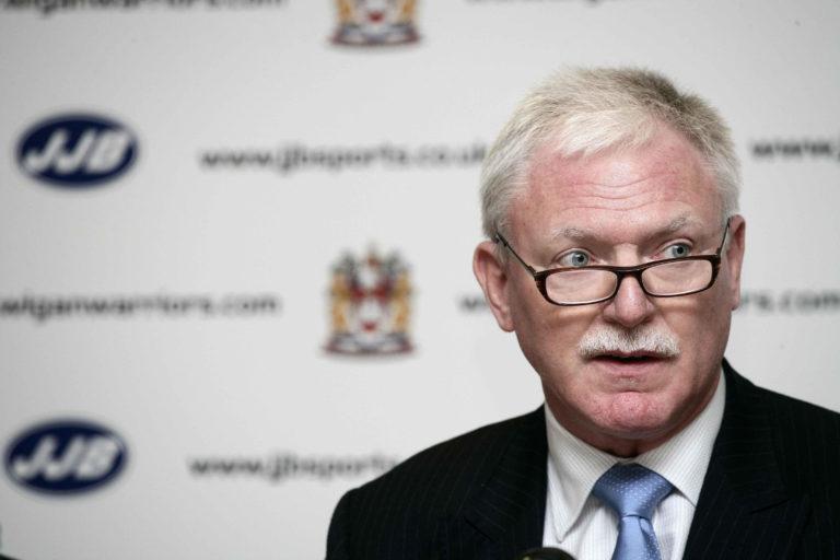 Ian Lenagan is chairman of Wigan Warriors