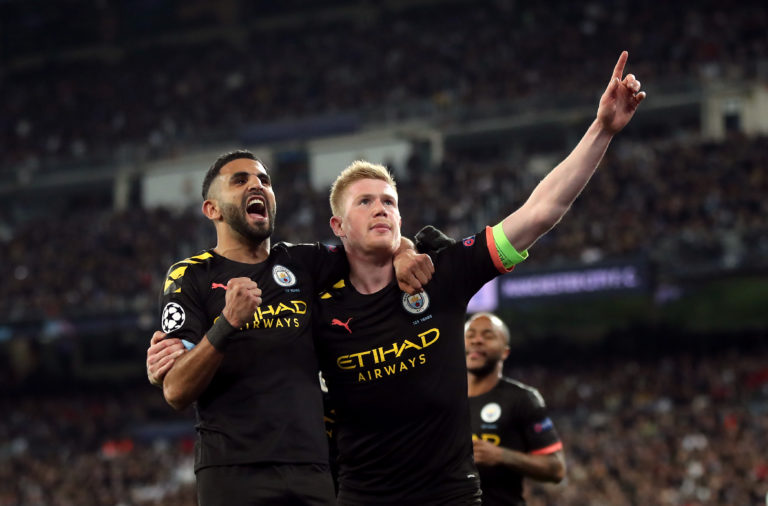 City claimed a famous win over Real Madrid in February but the second leg of the tie has been on hold