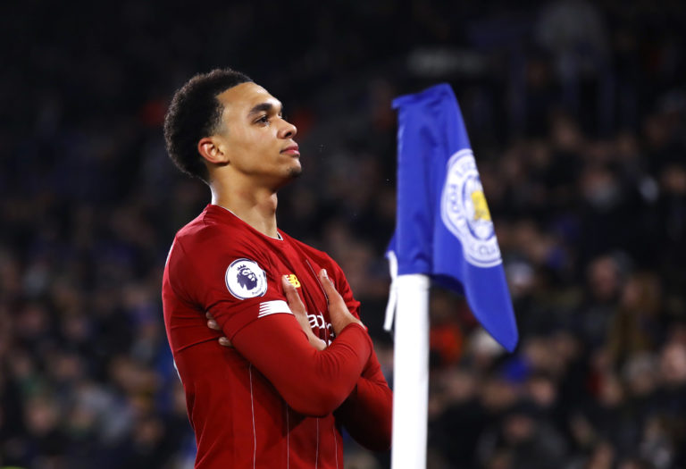 Trent Alexander-Arnold is the  current standard-bearer for the club's academy