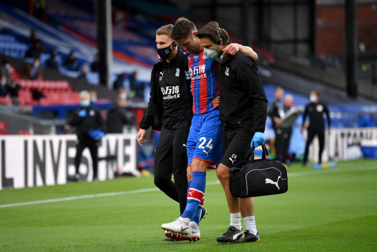 Crystal Palace lost Gary Cahill to an early injury