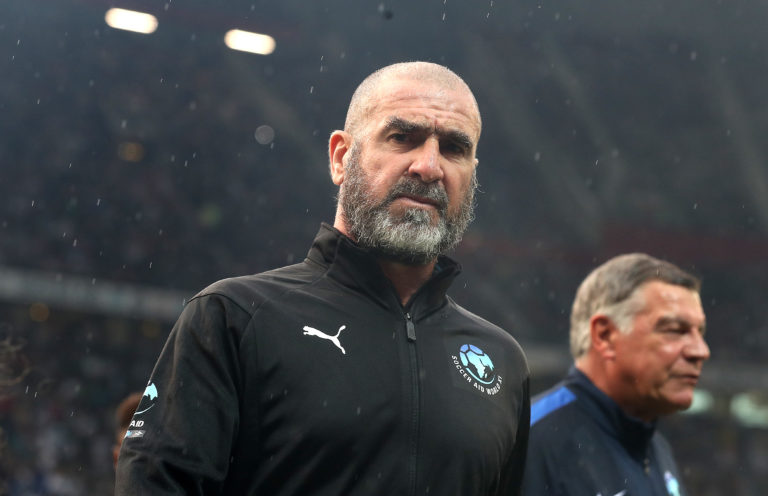 Eric Cantona was banned for eight months for kung-fu kicking a Crystal Palace fan in January 1995