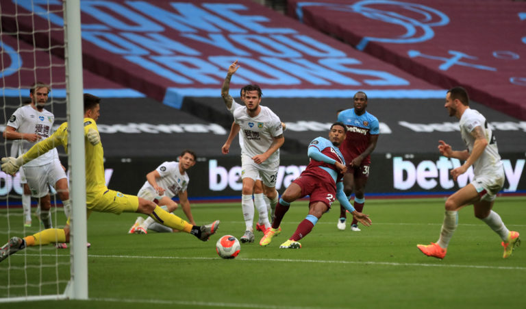 West Ham missed chances to equalise