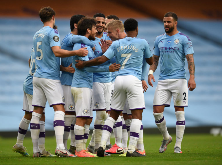 Manchester City cruised to victory