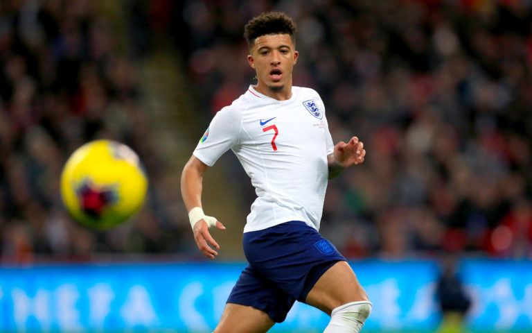 Manchester United have been strongly linked to Borussia Dortmund's Jadon Sancho