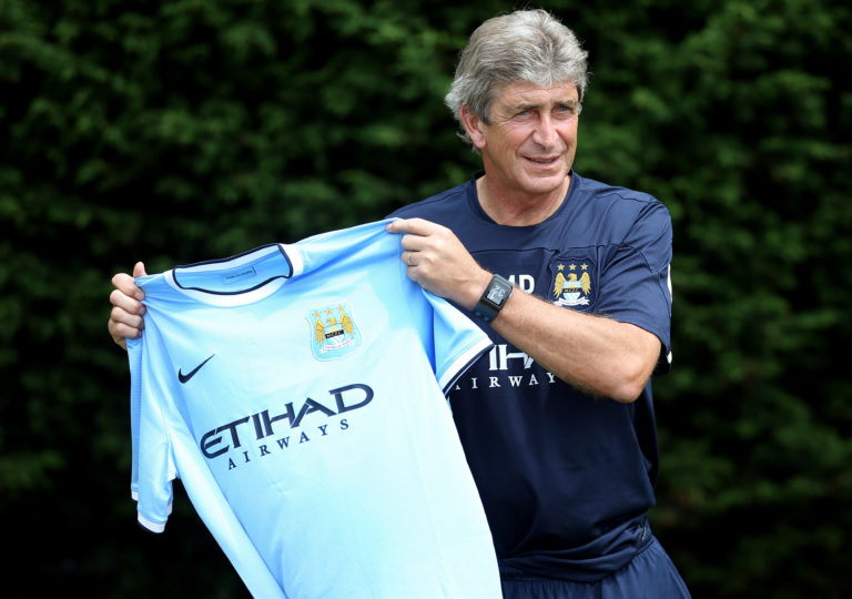 Manuel Pellegrini took over at Manchester City after Roberto Mancini was sacked by the club