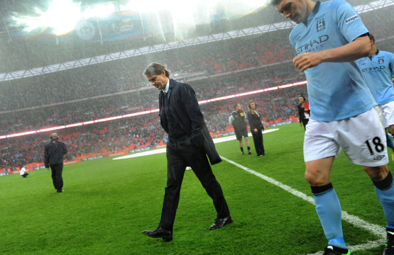 Manchester City fell to a shock 1-0 defeat to Wigan in the 2013 FA Cup final