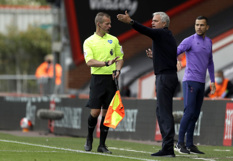 Jose Mourinho was unhappy with another VAR call