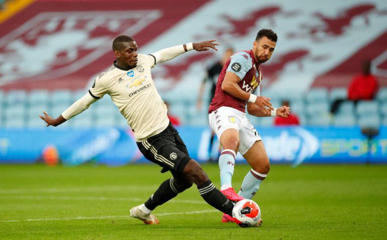 Trezeguet hit the post for Aston Villa