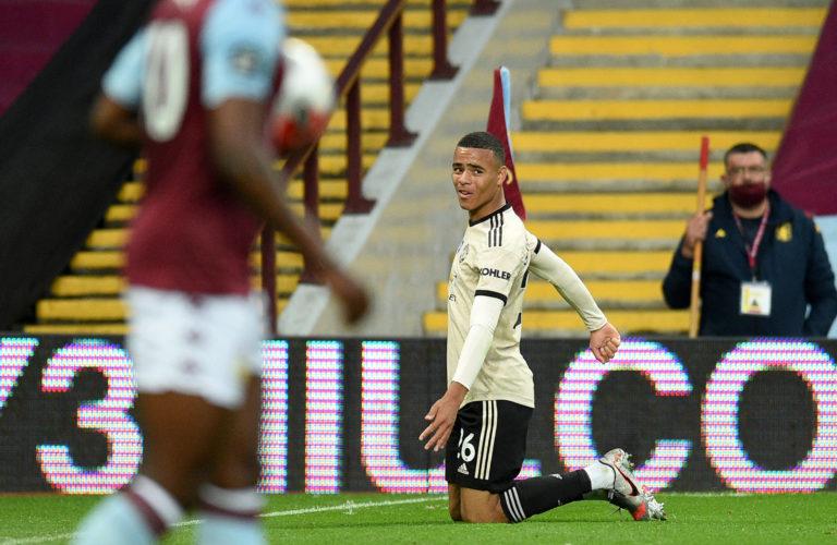 Mason Greenwood scored United's second