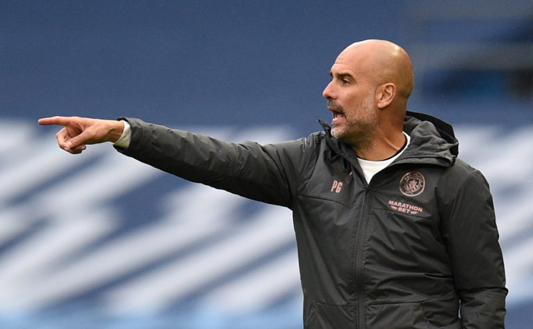 Manchester City manager Pep Guardiola says he is confident the ban will be overturned
