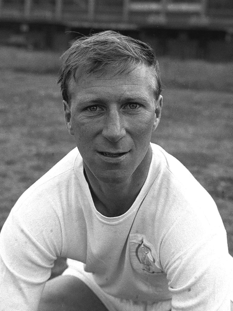 Jack Charlton spent his whole playing career at Leeds