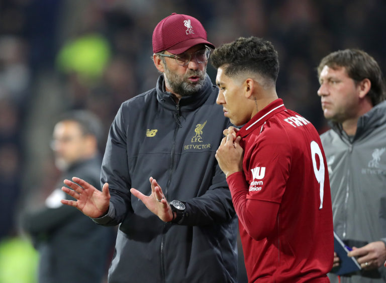 Liverpool manager Jurgen Klopp says Roberto Firmino offers far more than goals to his side