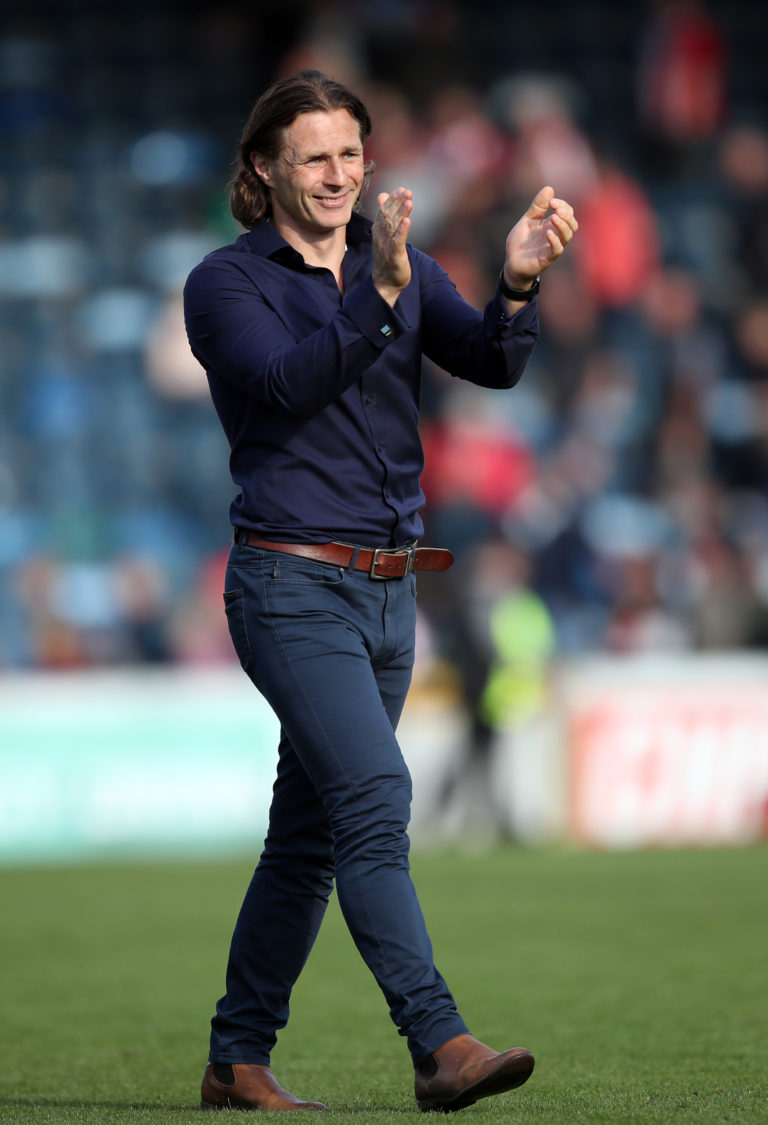 Wycombe manager Gareth Ainsworth could dress to impress at Wembley