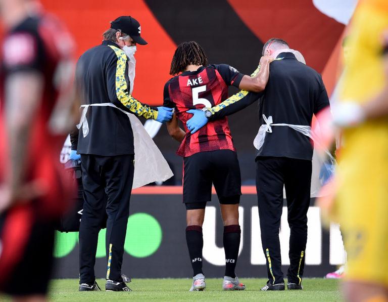 Bournemouth lost Nathan Ake to injury