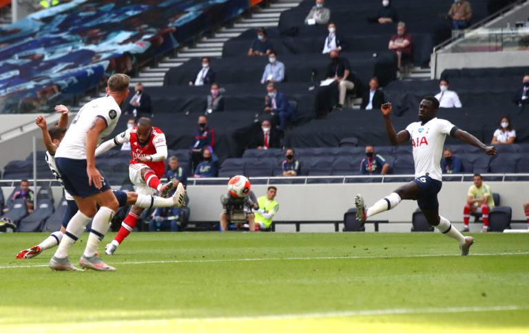 Alexandre Lacazette put Arsenal ahead