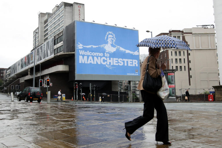 Manchester City unveiled a controversial ad upon signing Tevez from their rivals Manchester United.