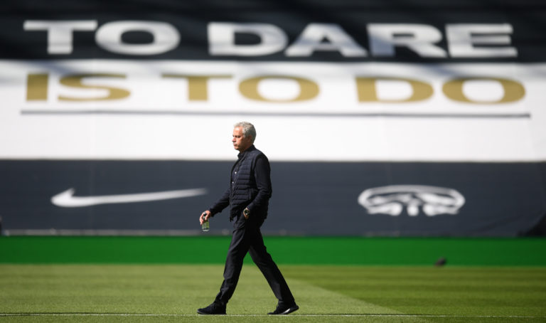 Mourinho wants to qualify for next season's Europa League