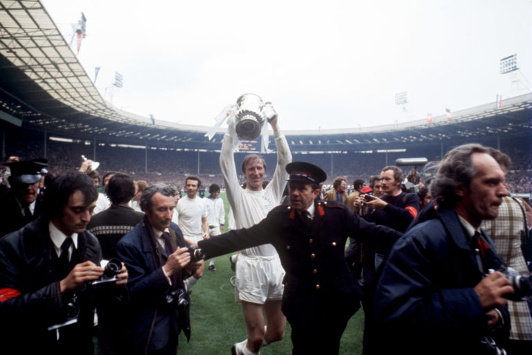 Jack Charlton won the FA Cup as a player with Leeds in 1972