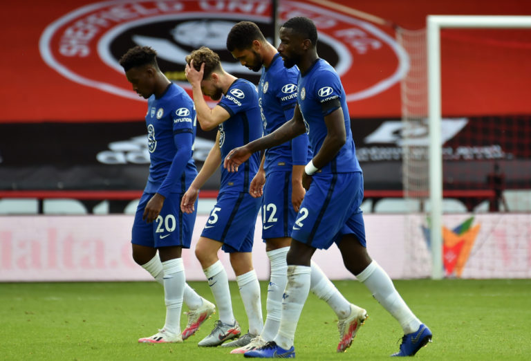 Chelsea were humbled at Sheffield United last time out