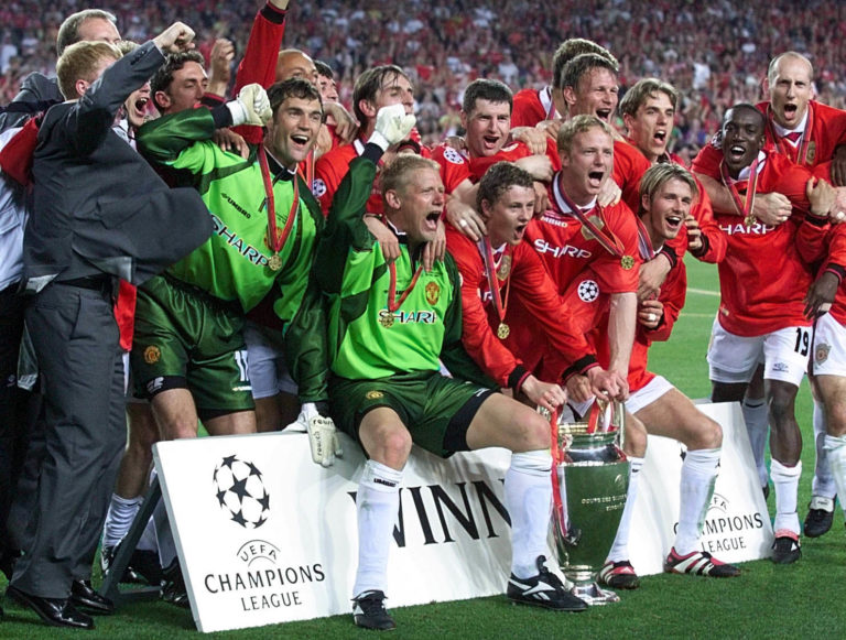 Manchester United's Champions League triumph in 1999 will also be remembered for Tyldesley's iconic commentary.