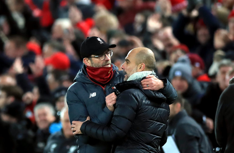 Klopp insists he has no axe to grind with Manchester City