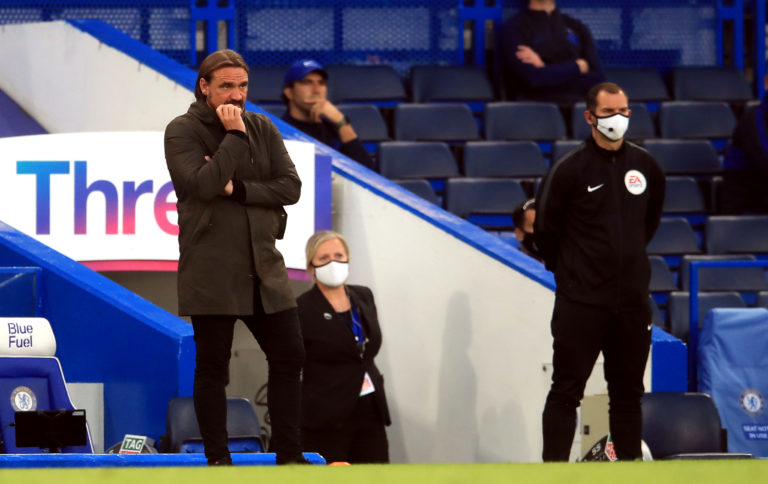 Norwich manager Daniel Farke, left, hailed his side's professionalism despite confirmation of their relegation