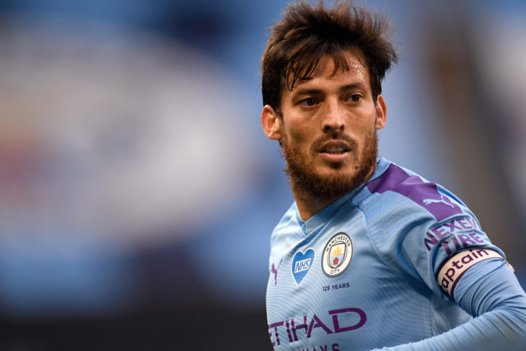 David Silva was a key man for Manchester City