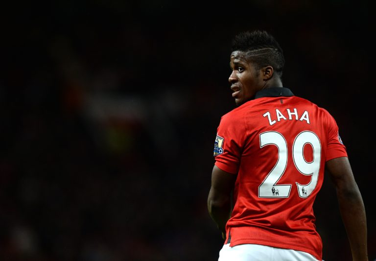 Zaha spent a little over two years on Manchester United's books