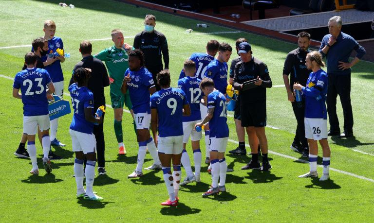 Everton were well beaten at Molineux