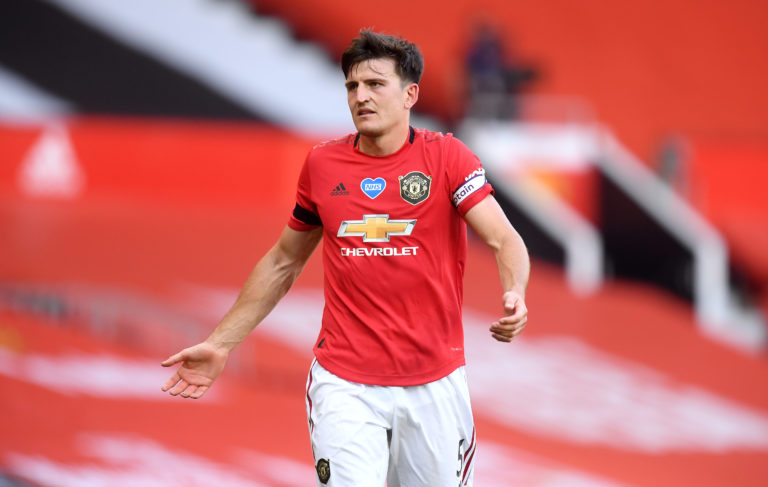 Harry Maguire became the world's most expensive defender when joining Manchester United from Leicester