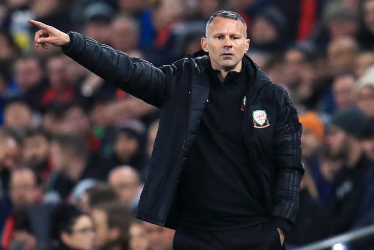 Wales boss Ryan Giggs will come up against England for the first time.