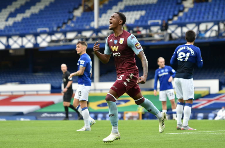 Ezri Konsa's goal was not enough for all three points at Goodison Park