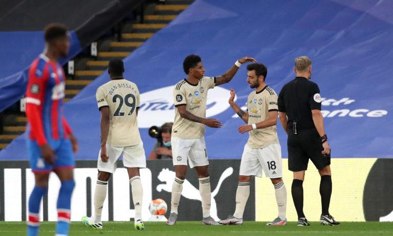 Marcus Rashford helped United maintain their Champions League push