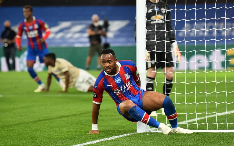 Ayew kidding me? Palace striker Jordan is denied by VAR