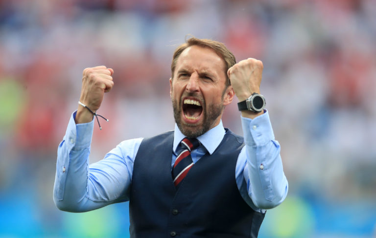 Gareth Southgate led England on a remarkable run to the 2018 World Cup semi-finals