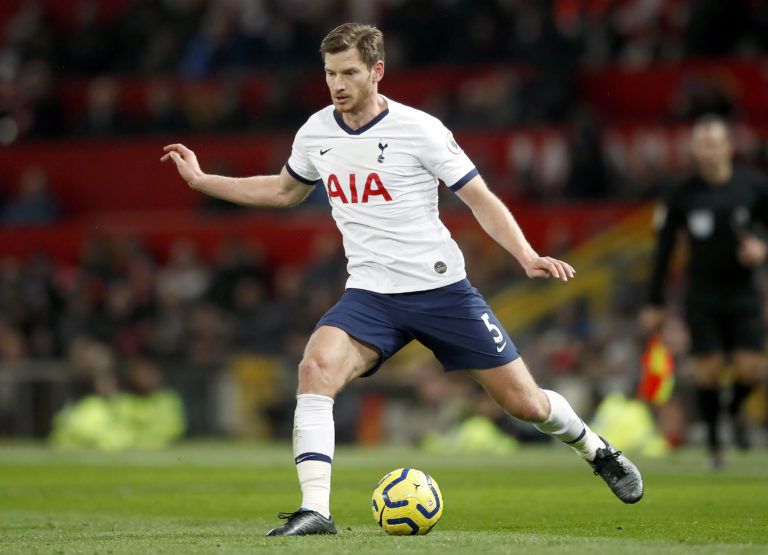 Jan Vertonghen is out of contract at the end of the season and does not look like he will sign a new one