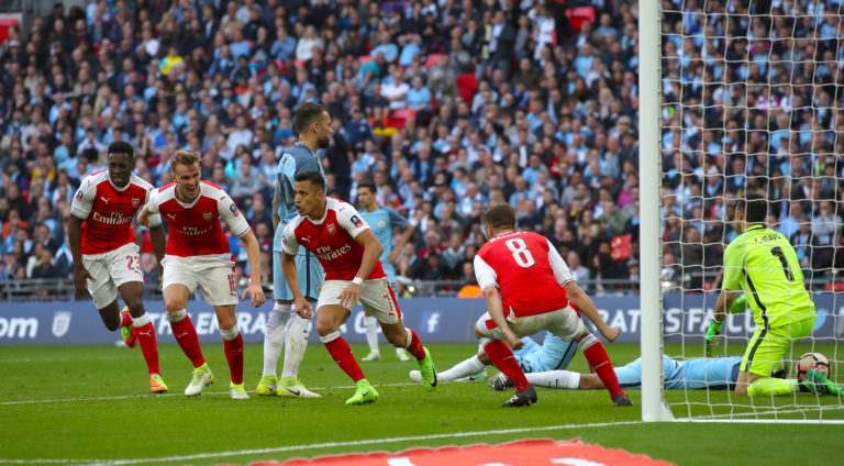 Alexis Sanchez scored an extra-time winner the last time Arsenal beat Manchester City.