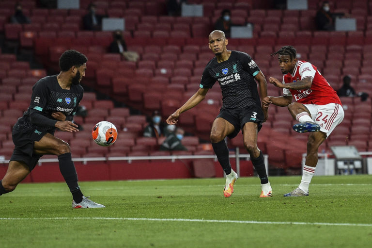 Reiss Nelson hit the winner as Arsenal beat Liverpool on Wednesday night.
