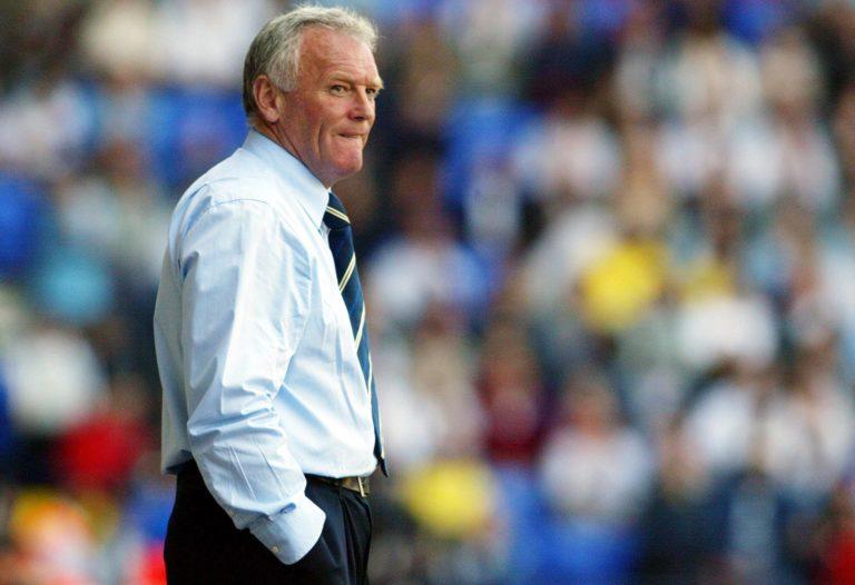Eddie Gray oversaw Leeds' last Premier League game in 2004