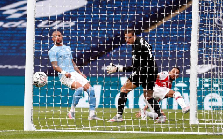 Arsenal v Manchester City – FA Cup – Semi Final – Wembley Stadium