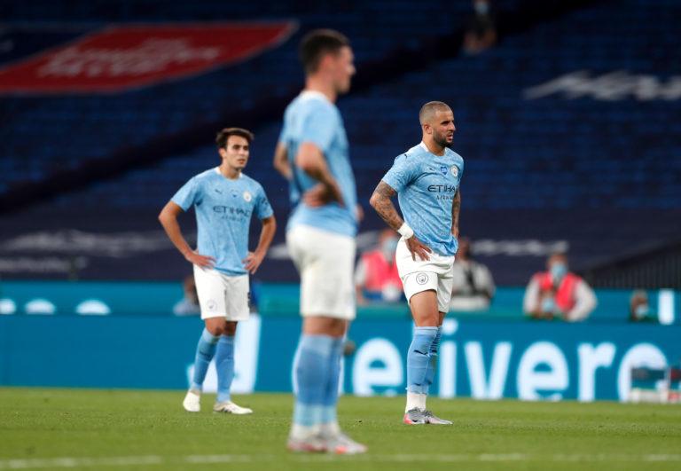 Manchester City were well beaten at Wembley