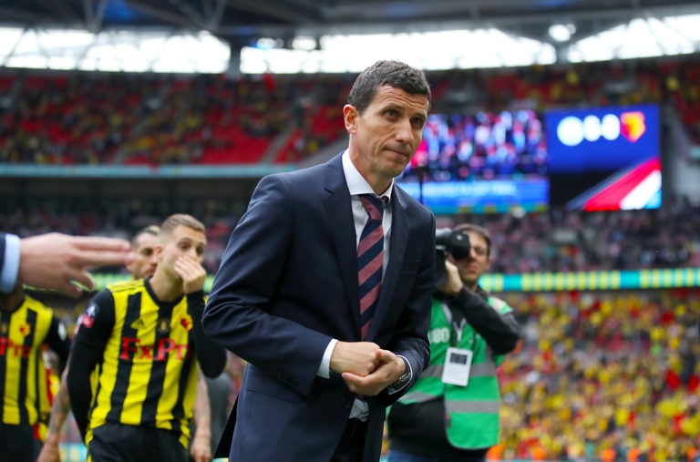 Javi Gracia was shown the door despite having guided the club to Wembley last season