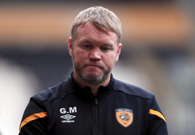 Grant McCann's Hull sit bottom of the league table