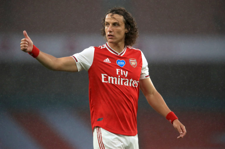 David Luiz has had an upturn in form since Arsenal switched to a three-man defence.