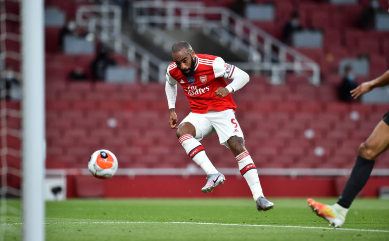 Alexandre Lacazette has been back among the goals of late.