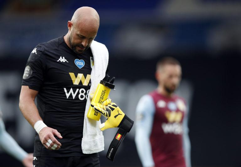Aston Villa are under pressure in relegation battle