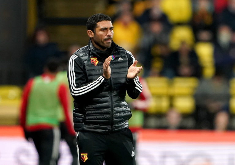 Hayden Mullins was Watford's under-23 boss before he was promoted to be part of Nigel Pearson's coaching staff at Vicarage Road