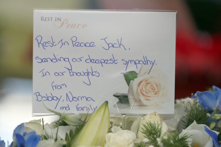 Jack Charlton funeral